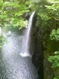 宮崎高千穂峡谷、地上とは温度差があり涼しくて別世界です。(^^)by 管理者 240x320(31KB)