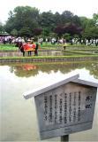 偶然にも岡山後楽園で、お田植え祭に遭遇です、小雨模様の中で始まりました。   ↓ 岡山後楽園のHPはこちらhttp://www.okayama-korakuen.jp/by 管理者 384x550(66KB)